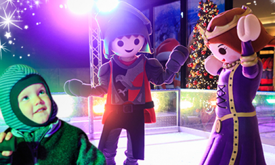 Mega ice skating action: Winter Magic at the PLAYMOBIL-FunPark