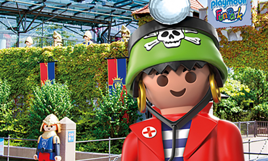 The PLAYMOBIL FunPark is still closed until further notice