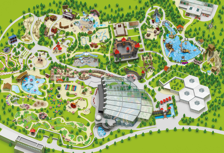 Parkmap Playmobil Funpark